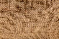 Braune Jute als Hintergrund Textur Muster