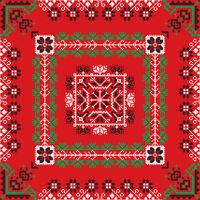 Romanian traditional pattern 195