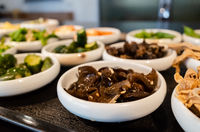 Taiwanese appetizer on a table