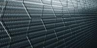 black carbon fiber structure - Illustration