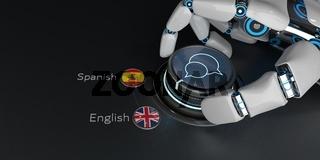AI Translator English Spanish