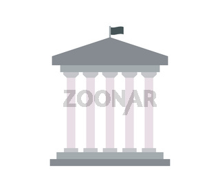 government icon illustrated in vector on white background