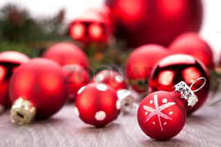 festive glitter christmas decoration