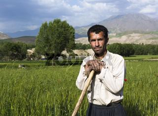 Landwirt in Afghanistan