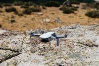 Close up shoot of a DJI Quadcopter Drone Mavic Mini