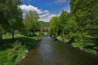 Die Glatt, linker Nebenfluss des Neckars, Schwarzwald