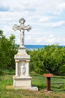 Waycross wth statue of jesus in Burgenland