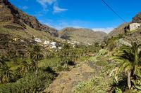 La Vizcaina oberhalb vom Valle Gran Rey auf der Insel La Gomera
