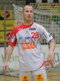 österreichischer Handballer Robert Weber vom SC Magdeburg DHB DKB Handball Bundesliga Saison 2014/15