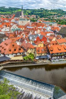 old Town of Cesky Krumlov, Czech Republic