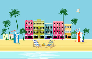Ort am Strand.eps