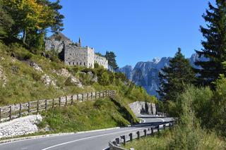Auf dem Predilpass in Slowenien