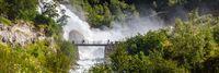 Briksdal waterfall in Norway