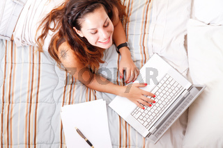 Studying in the Bedroom