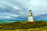 Great white lighthouse Waipapa
