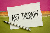 art therapy concept