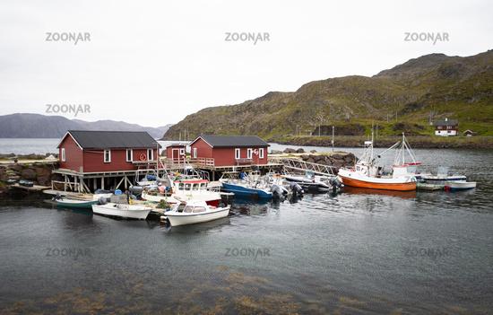 Kleiner Hafen am Nordkap
