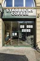 Kaiserplatz Coffee Shop Open During Covid-19 Lockdown in Frankfurt