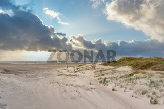 Dünenlandschaft am Strand von Sankt Peter-Ording