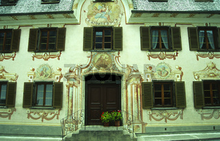 Hausmalereien in Holzgau, Lechtal