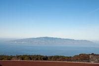 Blick auf Gomera, Teide-Nationalpark, Teneriffa, Kanaren, Spanien, Europa