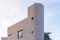 Modern minimalist architecture luxury home in Madrid