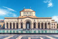 History Museum of Armenia, National Gallery of Armenia with Singing fountains on Republic Square