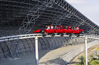 Abu Dhabi. United Arab Emirates. Ferrari World Amusement Park