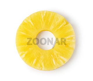Pineapple ring.