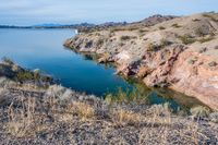 A breathtaking view of the lake in Cattail Cove SP, Arizona