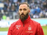 deutscher Fussballer Christopher Handke von FSV Zwickau DFB 3.Liga Saison 2019-20
