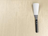 Kitchen spatula on the table