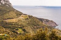 Kueste bei Monte Argentario, Maremma, Toskana