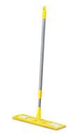 Yellow plastic mop