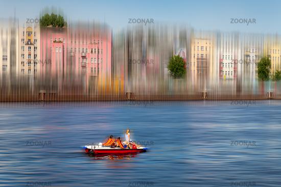 Tretboot in Berlin