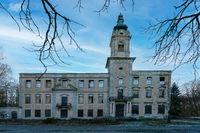 Die Ruine von Schloss Dammsmühle in Wandlitz