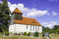 Dorfkirche Schoenberg (Mark), Brandenburg, Deutschland