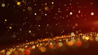 sparkling warm glitter background