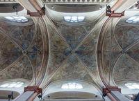 Deckenfresko in der romanischen Kirche St. Maria in Lyskirchen