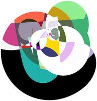 form farbe kontrast quadrat hintergrund freigestellt