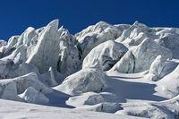 Türme aus Gletschereis