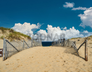 Path way to the beach at Cape Cod
