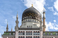 the Yenidze tobacco mosque building in Dresden