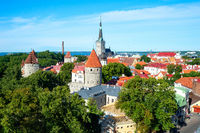 Talinn old town, Estonia