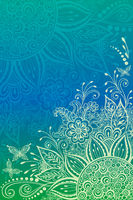 Backgrounds with Floral Pattern