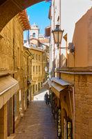 Street in San Marino