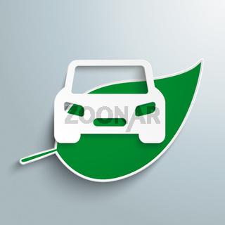 Green Leave Car PiAd