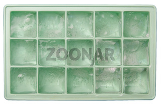 Isolated Ice Tray