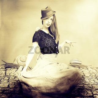 Die Schneckenkönigin