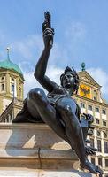 Augustus fountain in Augsburg